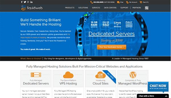 LiquidWeb Review Dedicated Servers