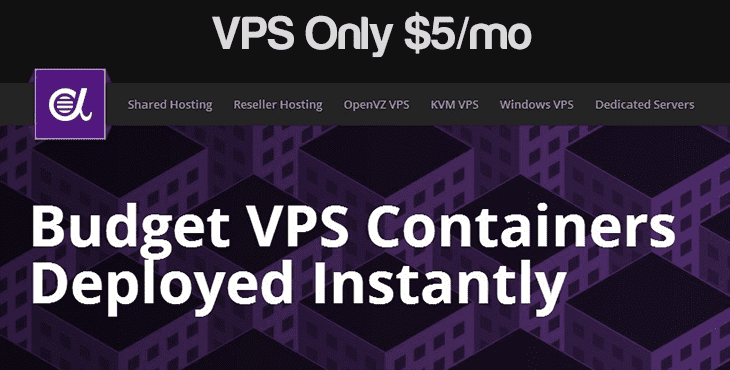 $5 per month VPS at Alpharacks